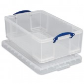 Really Useful Products 50L Box Clear