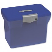 Blue A4 Freestyle file box 040062