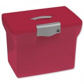 Red A4 Freestyle file box 040067