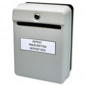 Helix Post/Suggestion Box Grey W81065