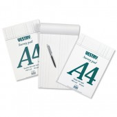 Vestry (A4) Survey and Engineering Pad Double Bill Headed with Feints 60gsm 100 Sheets Ref CV5066