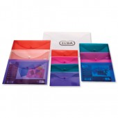 Elba Snap Wallets A4 Clear 100080924