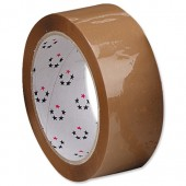 5 Star Packaging Tape 38mmX66M Buff