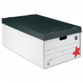 5 Star Jumbo Storage Box White