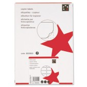 5 Star Copier Labels 105x37mm 100 Shts