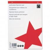 5 Star Flip Pad A1 40Shts 70g Wht 44001
