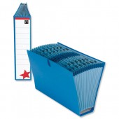5 Star Office Fantail File Fcap Blue