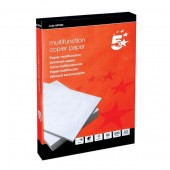 5 Star Copier Paper Multifunctional Ream-Wrapped 80gsm A3 White [500 Sheets] (One ream 500)