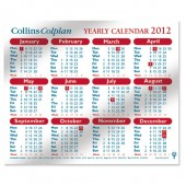 Collins Yearly Calendar 2012 CDS1