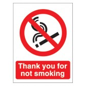 Thank You For Not Smoking Ns019