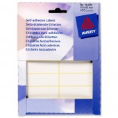 Avery Labels 62X19mm White Pk406 16-023