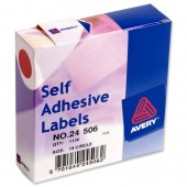 Avery Labels Dispenser 19mm Red 24-506