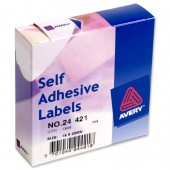 Avery Labels Dispenser 19x25 Wht 24-421