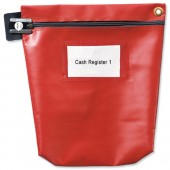 VersapakLtd Secure Cash Bag Red CCB1_RDS