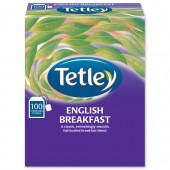 Tetley String&Tag EngBreak Pk100 A01424