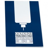 Goldline 112gsm Tracing Pad A3 GPT3A3Z