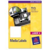 Avery Labels 25 Shts Laser L7671-25