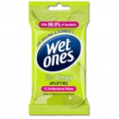 WetOnes Be Zingy Antibac Wipes X5643350