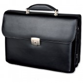 Alassio Brfcse Leather Blk 47011