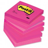 P/It Neo/Notes 3inx3in Pink 654-N-PI