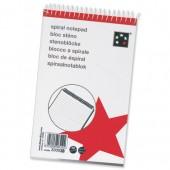 5 Star Spiral N/Bk 150 Shts Rld NS30038