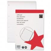 5 Star Refill Pad Fnt Rld 80Shts NS30062
