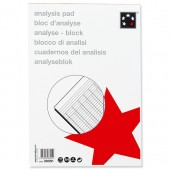 5 Star Analysis Pad A4 8 Col 100080289