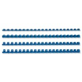 5 Star Plastic Combs A4 6mm Blue Pk100