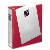 5 Star Office Pres R/Binder 65mm Red