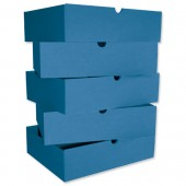 &Intensive File Drawer Pk5 Blue
