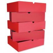 &Intensive File Drawer Pk5 Red
