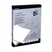 5 Star Copier Paper Smooth Ream-Wrapped 80gsm A3 High White [500 Sheets]