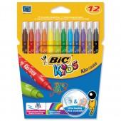 Bic Kids Felt Tip Pens Wlt12  841798