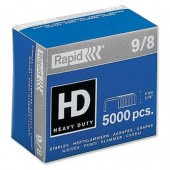 Rapid 9/8 Staples Box 5000 24871000