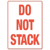 Adpac Parcel Label Do Not Stack SG108NS
