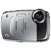 &Fuji XP30GPS Silver Digital Camera XP30