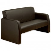 3*Adroit Leather Recep Sofa PS4075
