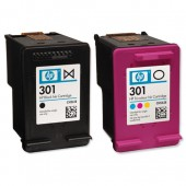 HP 301 Inkjet Cart Blk&Col Pkd2 CR340EE