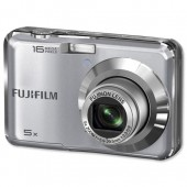 Fuji Silver 16MP/5x Digital Camera AX350