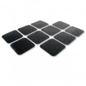 &COBA Grip Foot 140x140mm Tile Blk Pk10