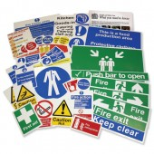 &Safety Sign Kit For Catering PP