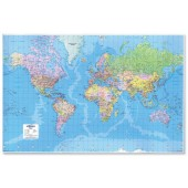 Map Marketing Giant World Map GWLD