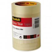Scotch EsyTear ClrTape 25mmx66m ET2566T6