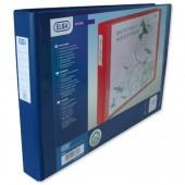 Elba A3 4D Oblg RBndr Blue 100082460