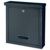 Letterbox Brighton Black T04508
