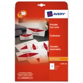 Avery Printable Tent Card 2TV L4795-20