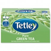 Tetley Pure Green Tea  Pk25 A07505