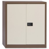 Trexus Cupboard 40in Cof/Cream 2 Door