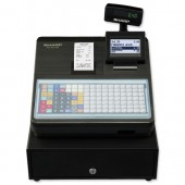 &Sharp Black Cash Register 217b