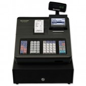 &Sharp Black Cash Register 207b
